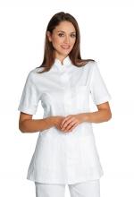 Casacca Panarea colore BIANCO – 100% Cotone – sanitario – medicale – estetico – alimentare – servizi – ISACCO