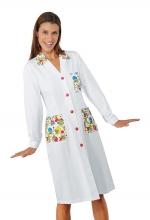Camice Donna – colorato SMILE – sanitario – medicale – pediatrico – ISACCO