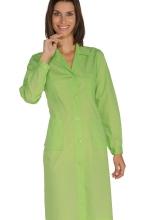 Camice Donna - colore MELA – sanitario – estetico – alimentare - ISACCO