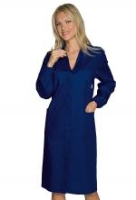 Camice Donna Antinfortunistico da lavoro – colore BLU – cotone e poliestere - ISACCO