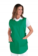 CASACCA PONCHO VERDE 65% POLYESTER  35% COTTON