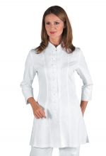 Casacca Siviglia – colore BIANCO – Manica a ¾ – taglio Fashion – sanitario – medicale – estetica e bellezza – ISACCO