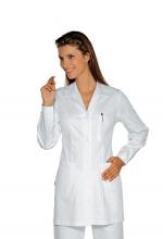 Casacca DONNA Marbella – colore BIANCO – 100% Cotone – sanitario – medicale – infermieristico – estetico – alimentare – ISACCO