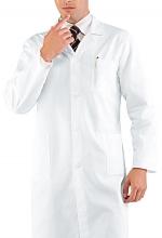 Camice Medico Cm 110 – No stiro – Bianco Satin – ISACCO