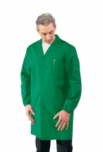 Camice Uomo sanitario - medico – alimentare – pulizie – colore VERDE – ISACCO
