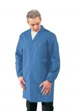 Camice Uomo sanitario - medico – alimentare – pulizie – colore AZZURRO – ISACCO