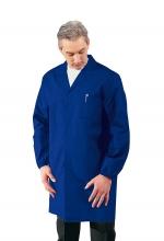 Camice Uomo sanitario - medico – alimentare – pulizie - colore BLU CINA – ISACCO