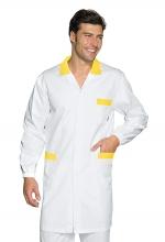 Camice Uomo Toronto – Bianco e Giallo - ISACCO