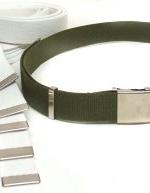 Cintura tela Vega altezza cm 4 2V74 diversi COLORI