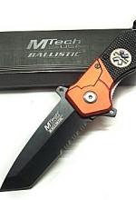 Coltello MTech Rescue Orange con Esculapio - 118 Soccorso ed Emergenza