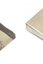 Fibbia neutra piatta per cinturone in metallo