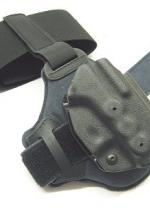 Fondina Radar in polimero da caviglia per glock 17 19 26