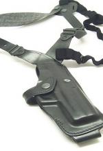 Fondina Vega cuoio ascellare AA113 per revolver 4 pollici