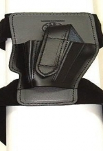 Fondina Vega cuoio caviglia CB123 per glock 26 27 walther pps serie CB1