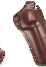 Fondina Vega cuoio da fianco T165 per revolver 6,5 pollici castello N