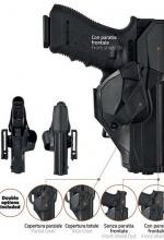 Fondina Vega polimero cama CCH804 per glock 17 18 22 31 37