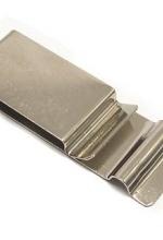 Molla metallo lucido per fondina