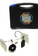 Occhiale KNOBLOCH professionale con accessori da tiro a segno