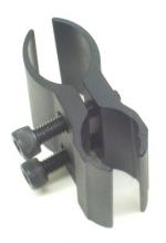 Supporto a otto metallo per torcia o laser o cannocchiale