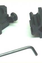 Supporto attacco metallo per torcia laser o cannocchiale